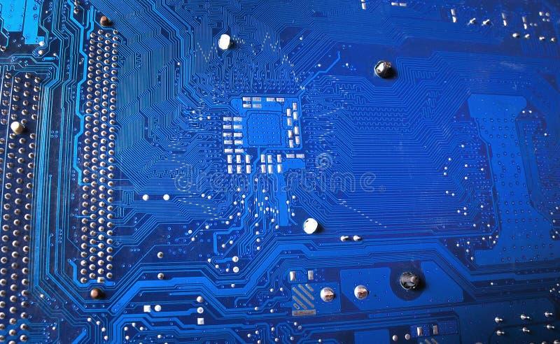 Circuito. parte del calcolatore immagine stock libera da diritti