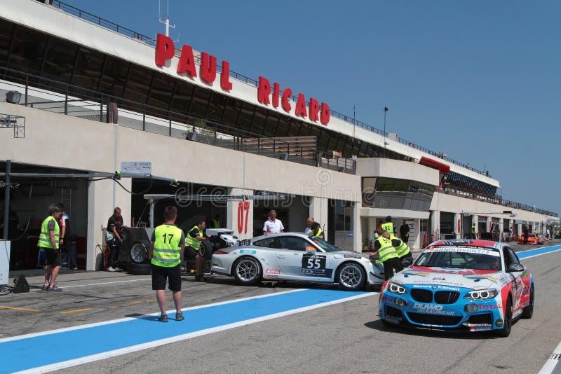 Circuito Paul Ricard imagen de archivo