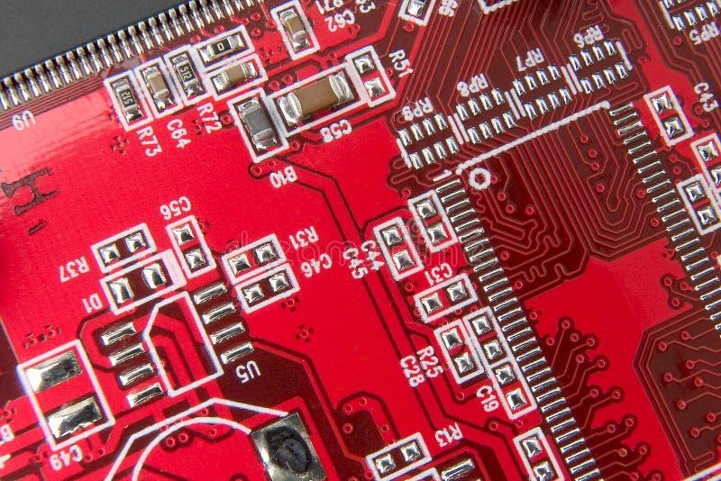 Circuito stampato immagine stock