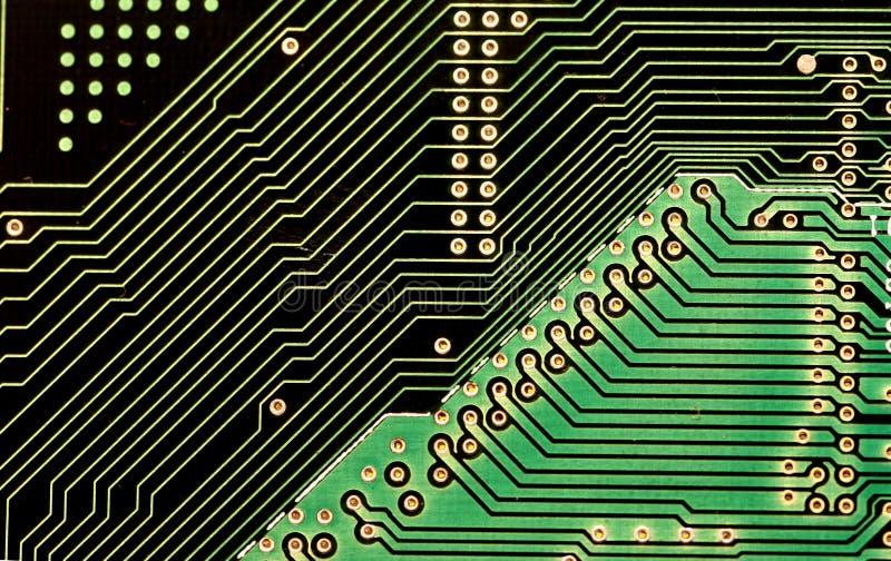 Circuitos, diagonales imagen de archivo