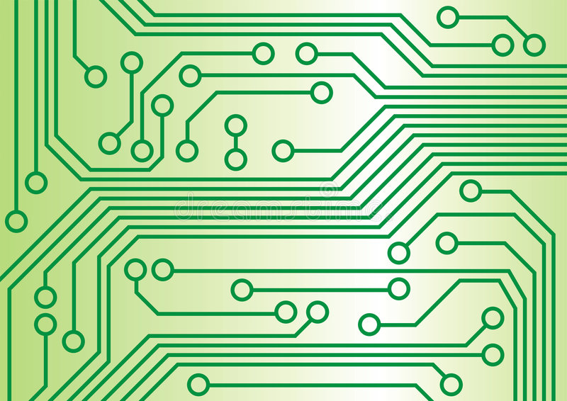 circuitry ilustracja wektor