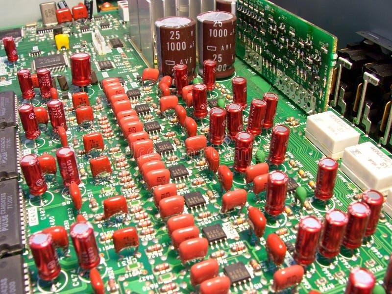 Download Circuits électroniques image stock. Image du électricité - 58231