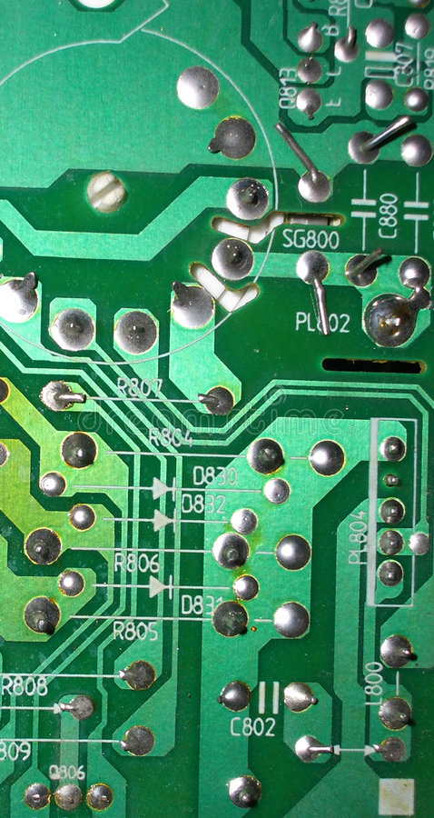 Download Circuits 15 stock photo. Image of tech, printed, microchip - 118632