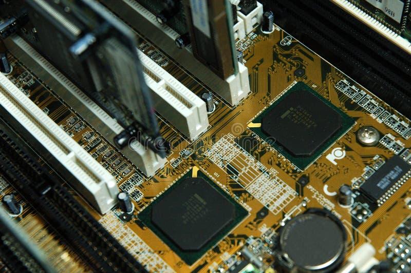 Circuits de PC photographie stock