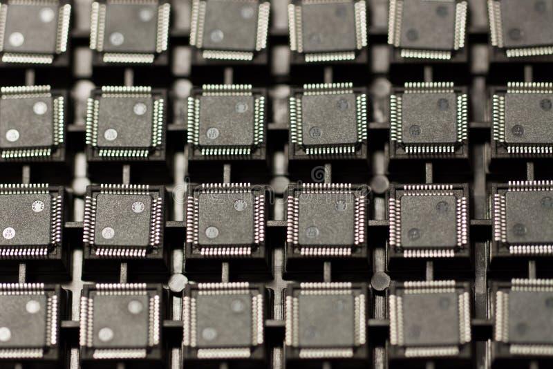 Circuits intégrés de SMD photographie stock
