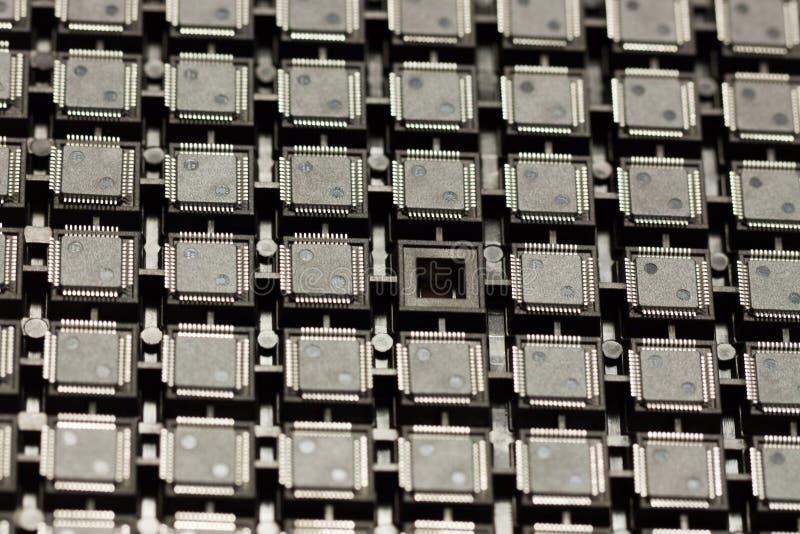 Circuits intégrés de SMD photos libres de droits