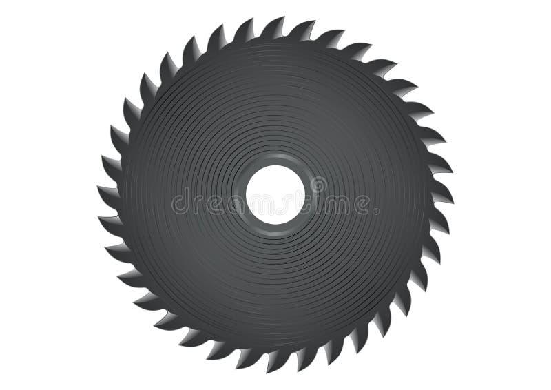 Circulaire a vu illustration de vecteur
