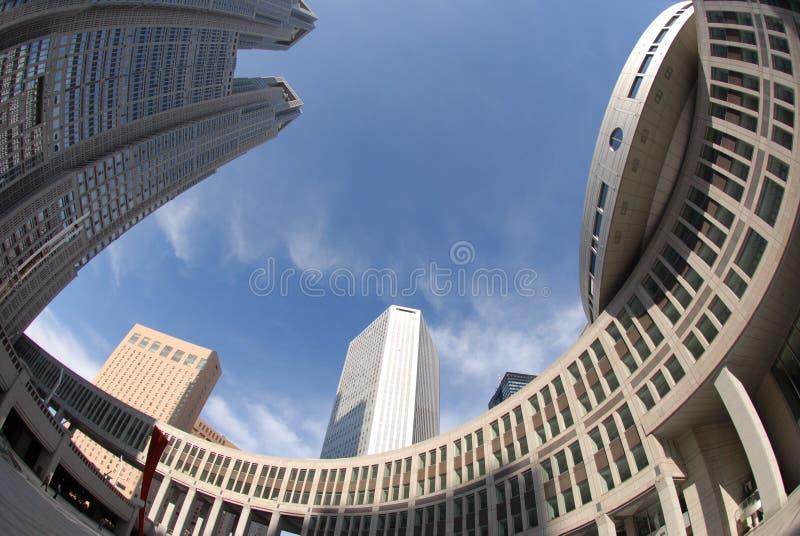 Circular architecture stock photo