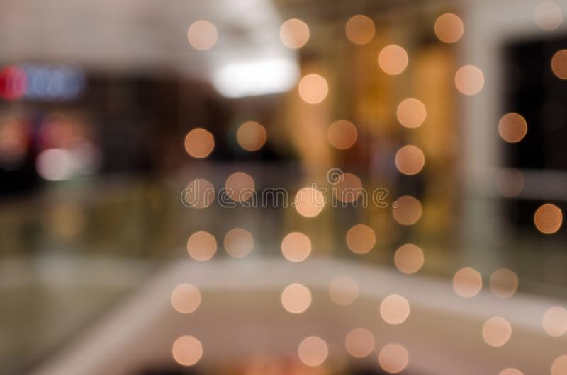 Circular blur lights. For back ground stock image