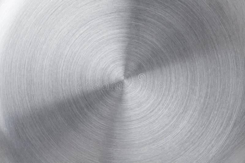 circular brushed metal texture royalty free stock photography