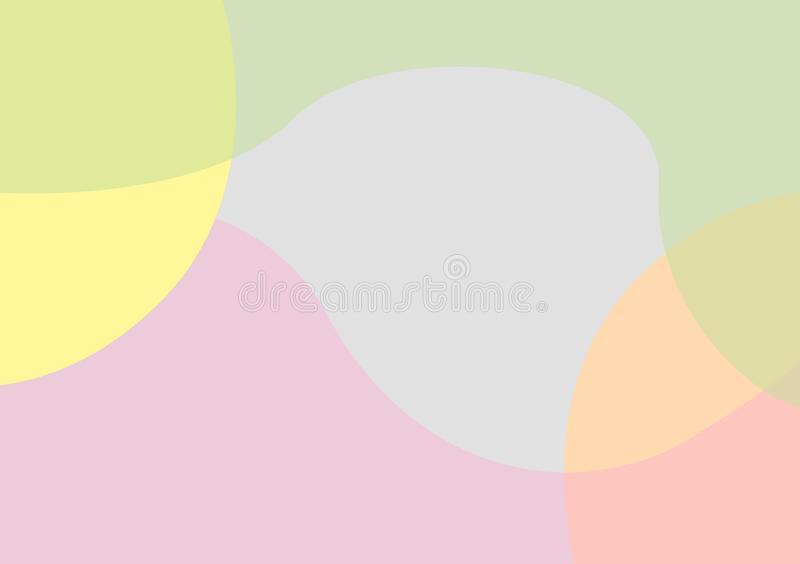 Circular colored curved shaped background wallpaper vector illustration