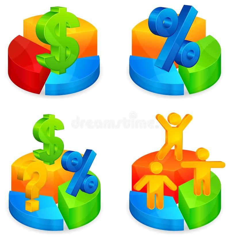 Download Circular Diagrams With Symbol Stock Vector - Image: 21522948