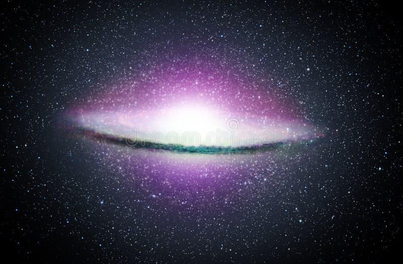Circular Galaxy Royalty Free Stock Images