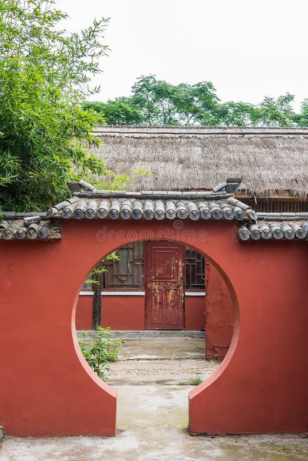 Circular gate stock photography