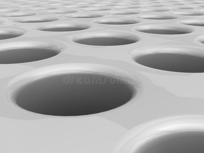Download Circular holes stock illustration. Image of bluish, circular - 26060282