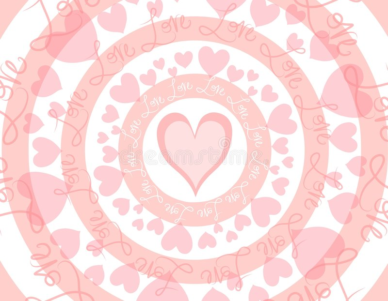Download Circular Love Valentine's Day Background Stock Photo - Image: 3979898