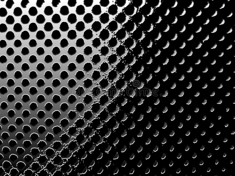 Circular mesh royalty free illustration