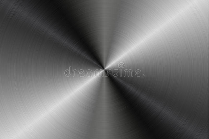 Circular Metal Surfaces Texture Backgrounds,Texture 10 royalty free illustration