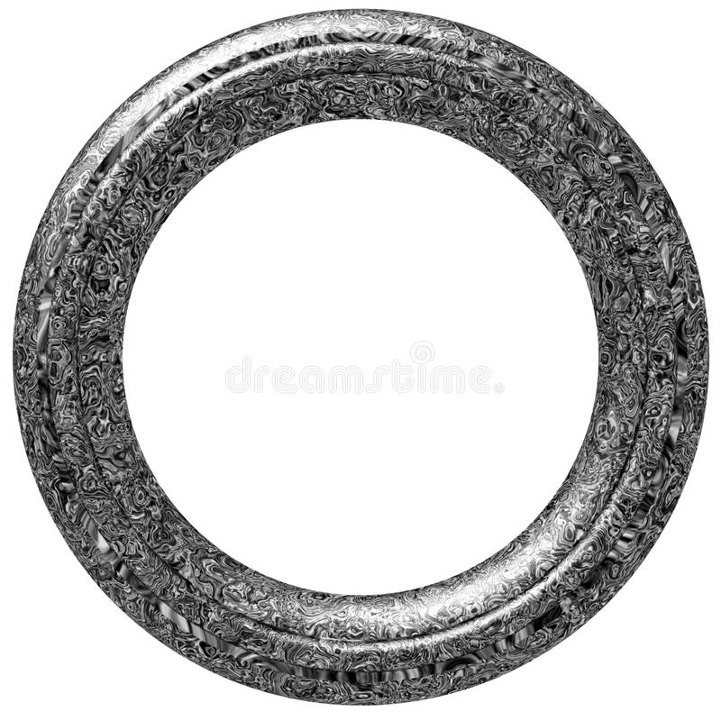 Download Circular Picture Frame stock illustration. Image of decoration - 2459266
