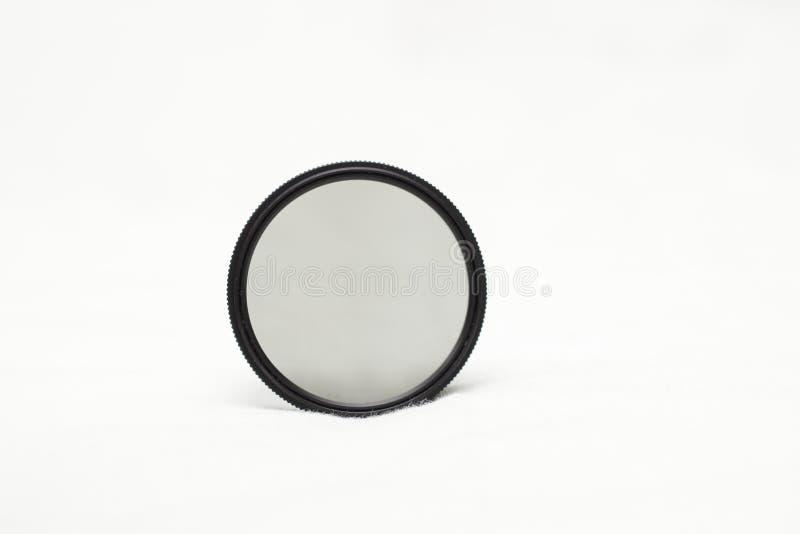 Circular polarising filter. Circular polarizer filter for phtography, DSLR cameras also known as CPL Filter royalty free stock images