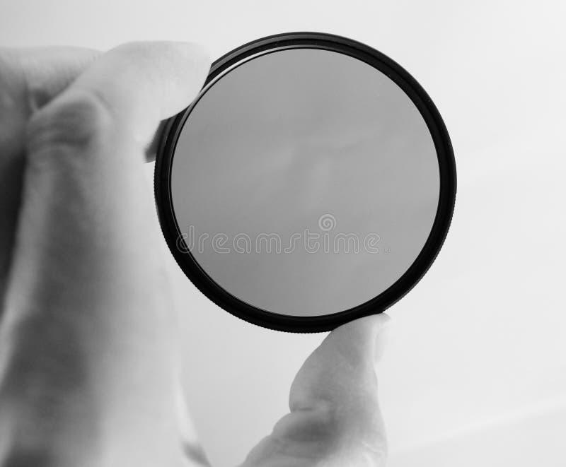 Circular polarising filter royalty free stock photo