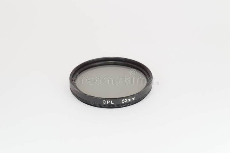 Circular polarizer filter. 52 mm for camera royalty free stock photos