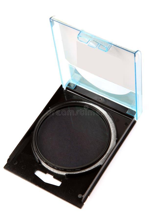 Circular Polarizing Lens Filter Stock Image