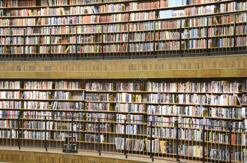 Circular public library, Stockholm, Sweden stock photos