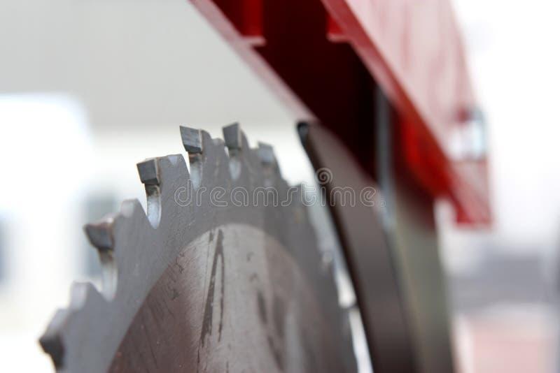 Circular saw. Blades of a circular saw stock images