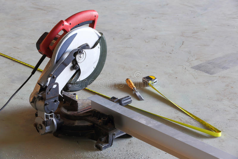 Download Circular saw stock image. Image of business, detail, house - 28408053