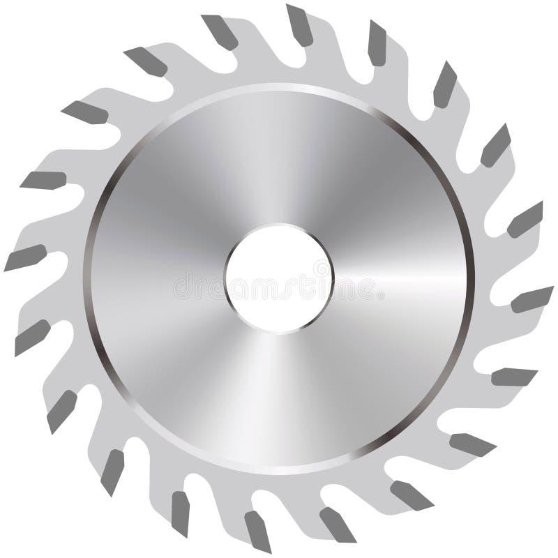 Download Circular saw blade stock vector. Image of machine, dangerous - 24213034