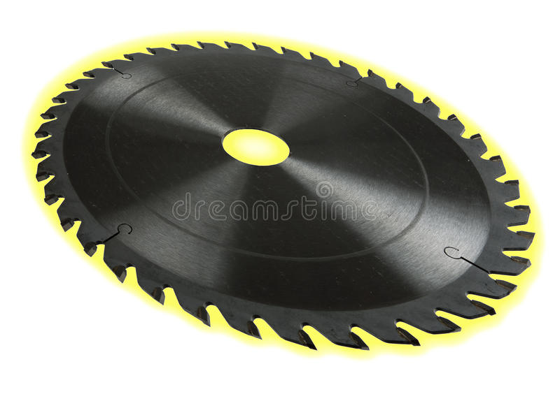 Download Circular Saw Blade - Dof Effect, With Glow Stock Image - Image: 20518365