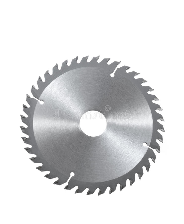 Download Circular Saw Blade For Wood Isolated On White Stock Image - Image of carpentry, cutting: 18819023