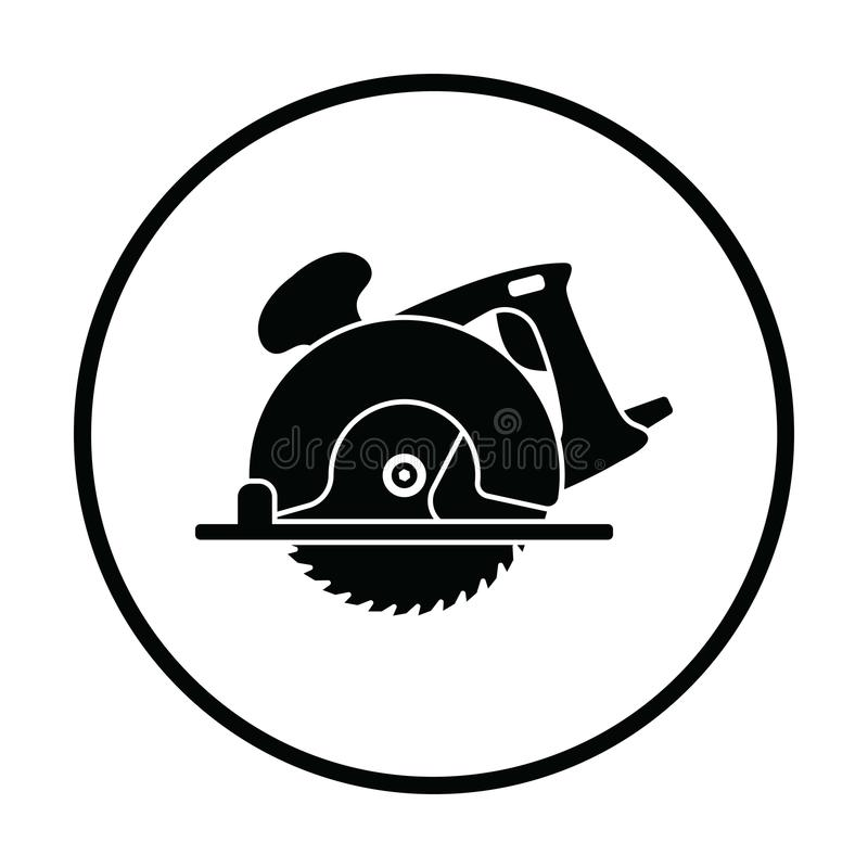 Circular saw icon vector illustration