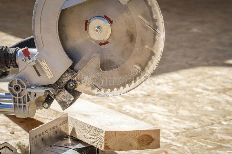 A circular saw stock photography