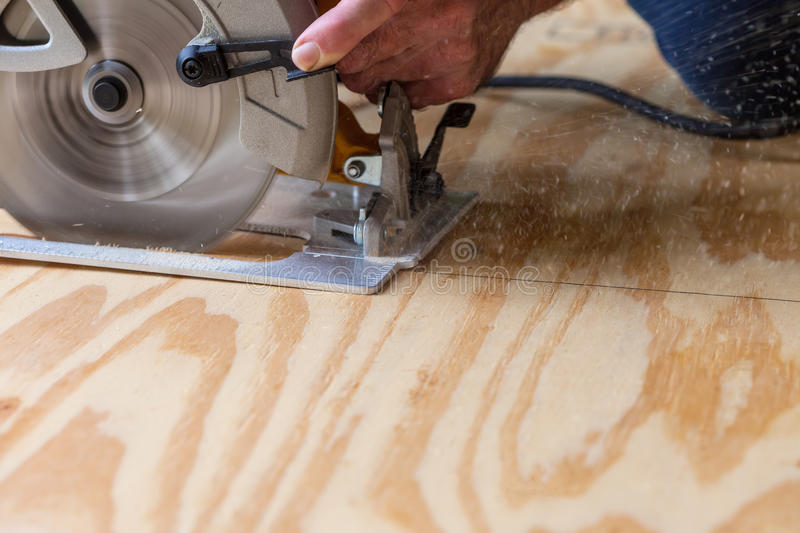Circular Saw stock photography