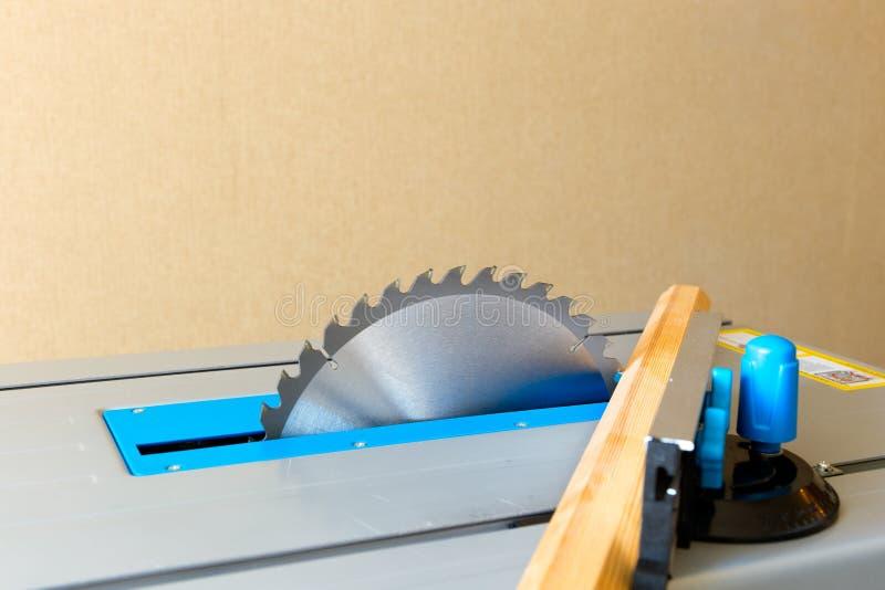 Circular saw. Circular saw wood cutting tool for machining the teeth royalty free stock image