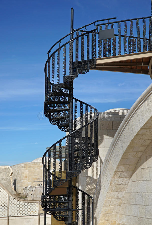 Download Circular Stairs Stock Image. Image Of Jerusalem, Stairway    85071423