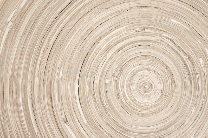 Circular wood texture. Of handmade dish stock photography