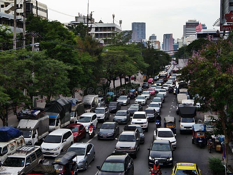Circulation à Bangkok photos stock