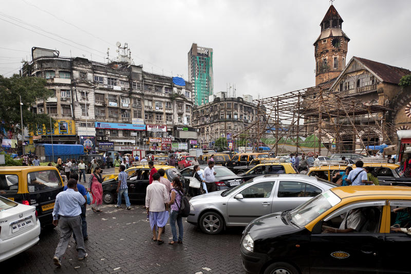 Circulation dans Mumbai photo stock