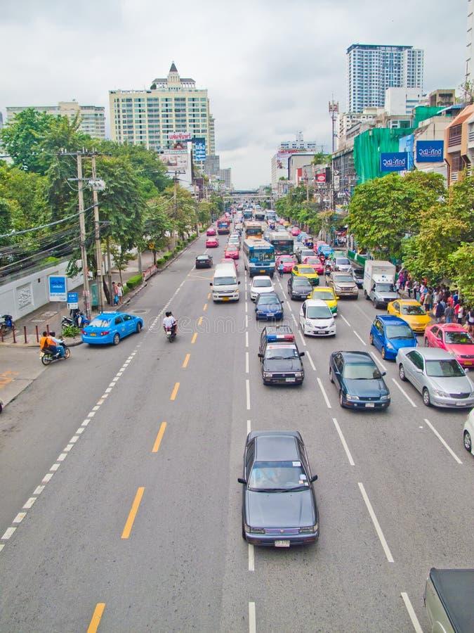 Circulation de Bangkok photos stock