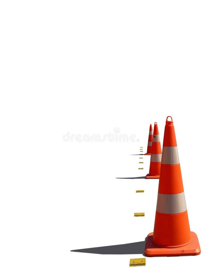 circulation de cône illustration libre de droits