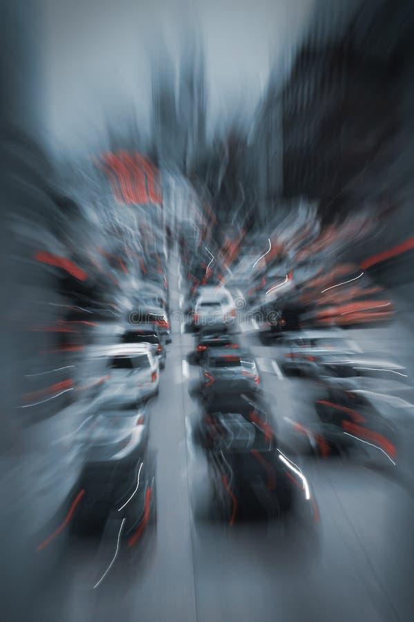 Circulation de Crosstown photo libre de droits