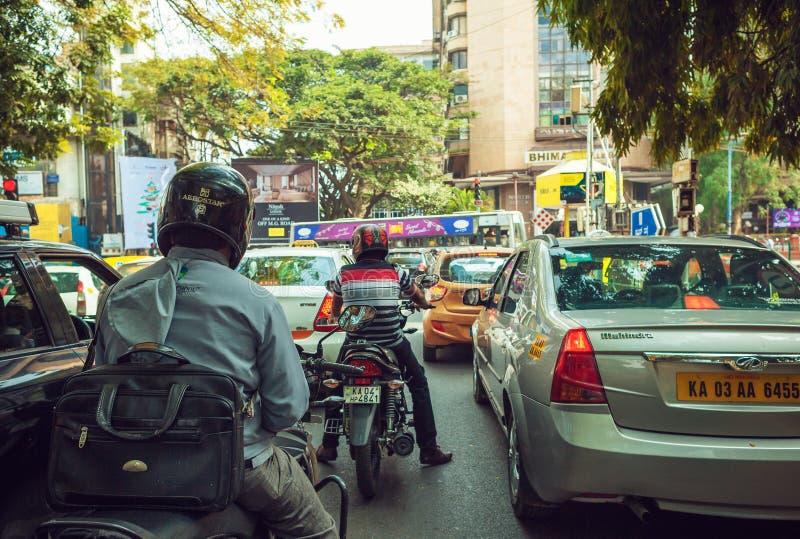 Circulation indienne photo libre de droits