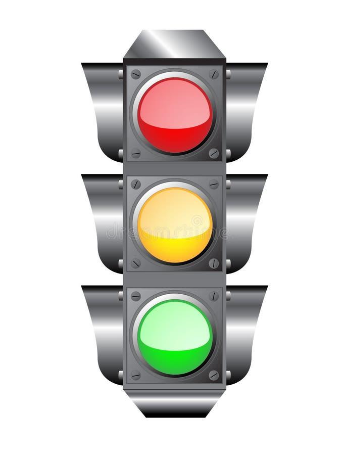 circulation légère de sémaphore illustration libre de droits