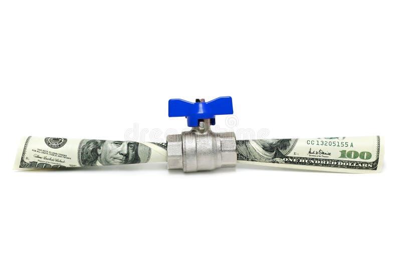 Circuler d'argent photographie stock