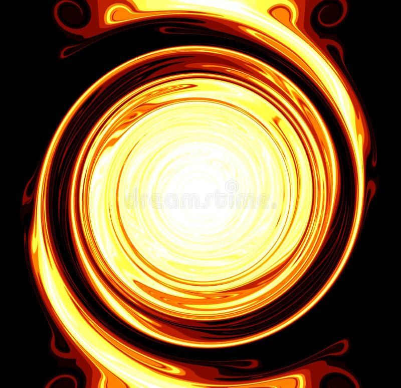 Circulo de fuego illustration de vecteur