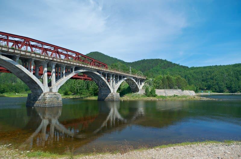 Circum-Baikal-Eisenbahn lizenzfreies stockfoto
