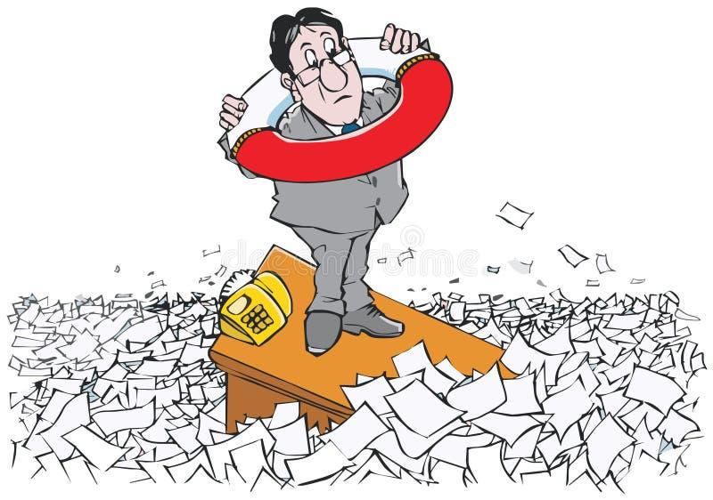 Circumlocution oficial ilustração do vetor